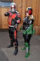 Ant Man  Judge Anderson Cosplay by masimage