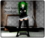 TDA Miku Dark Angel+Dl by AmeliaRoseHedgehog