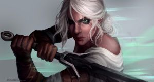 The Witcher 3 - Ciri by AstriSjursen
