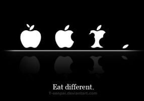 Eat Different - Apple by T-senpai