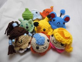 Crochet Cupcakes, group shot by FullMetalAshley