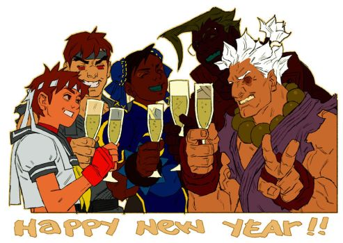 Happy New Year by pietro-ant