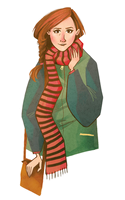 Molly Hooper by grouchywolfpup