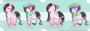 Oriental Dragonfly Pony Auction [CLOSED] by TanukiAdopts