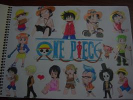 One Piece Collage by Sci-rose