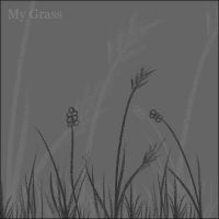My Grass - Brushes by digiladee