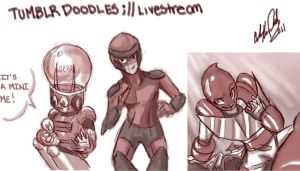 Livestream-Tumblr Doodles by NillaKiwi