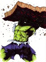 Hulk REDO Challenge Coloured by MDMacKay