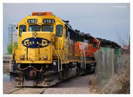 Burlington Northern Santa Fe by erbphotography