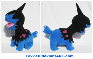 Deino Plush by Fox7XD