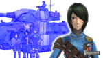 VALKYRIA CHRONICLES MARINA WULFSTAN by creator5th