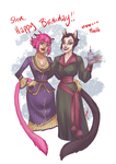 Birthday Cats by quotidia