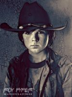 The Walking Dead: Carl: Fractalius Redux (Ver.2) by nerdboy69