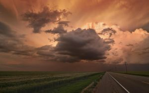 Oklahoma Storm at Sunset by MattGranzPhotography