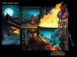 Spirit Guard Udyr - League Of Legends Page 1 by Tonywash