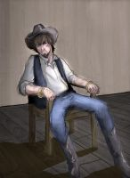 BAMF Cowboy by WithoutName