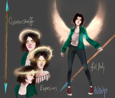 OC Reference: ALEX by parsalys