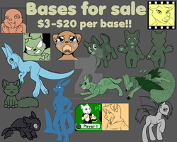 Bases for sell by Shadowfoxnjp