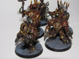Warhammer 40k Chaos Khorne Terminators - Sold by TheFranology