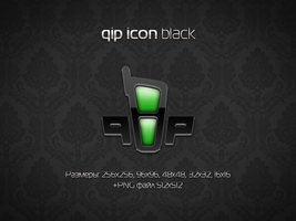 QIP icon 'black' by aablab
