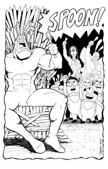 The Tick and his Minions?? by frankdawsonjr