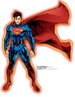 superman by richrow