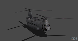 RESIDENT EVIL 6 BSAA HELYCOPTER by OoFiLoO
