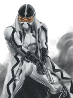 Fantomex of X-Force by alvinsanity