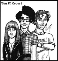 The IT Crowd by Shmivv