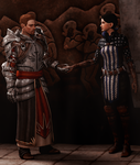 A Templar and a Warden by Mageflower