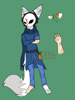 Flint ref ( Redone ) by Cryingblood189