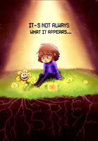 Undertale- It's not always what it appears by GenerallyUnamused