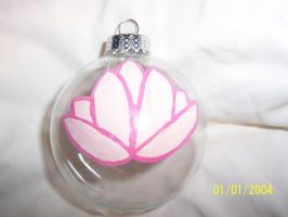 Lotus Cutie Mark Ornament by AppieJackie
