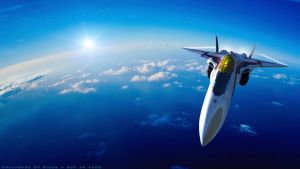 VF-24 Skimming the Horizon by Zinjo