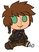 COMM: Hiccup Plush by LeniProduction