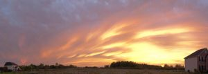 Skies on Fire (Panorama) by Anths95