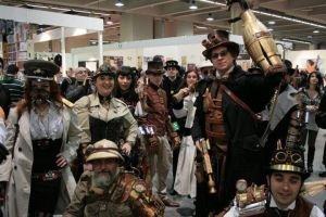 Raduno Steampunk Cartoomics 2012 by Steampunk-Italia