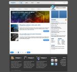 'Blue Carbon' Blog Design by RUGRLN