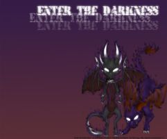 Enter the Darkness Wallpaper by shaloneSK
