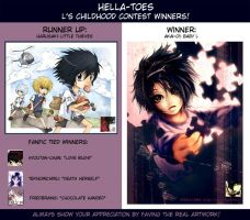 L's childhood contest winners by hella-toes