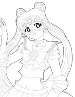 Sailor Moon Prototype WIP by Sailor-Serenity