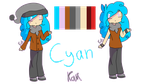 Cyan Reference by eliotecre