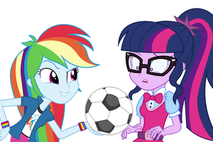 Commission: Wanna Play Soccer? by Spottedlions