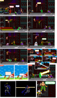 Justice League vs. Z Fighters page 2 by 8-BitBlanka