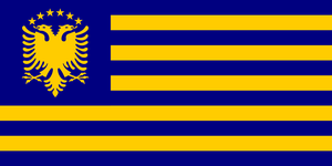 Alt Flag - Kosovo 03 by AlienSquid