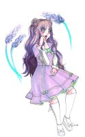 Lavender Sweet x Hime Lolita by shoujo-neko