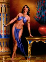 dejah thoris again by fluidgeometry