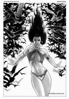 Vampirella Strikes 03 inks by FabianoNeves
