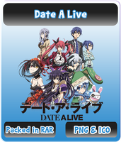 Date A Live - Anime Icon by Rizmannf