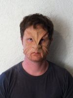 prosthetic makeup test by DelectablyDeviant